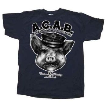 Motive Shirt, Acab, All Cops Are Bastards, A.C.A.B