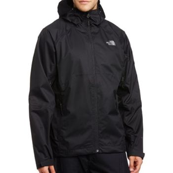 Schwarze the north face jacke