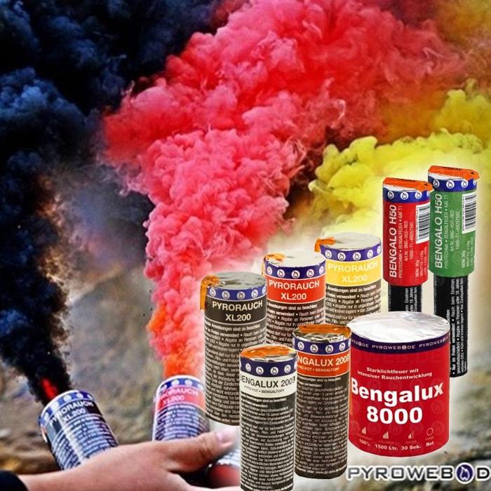 Pyrotechnik Bengalos
